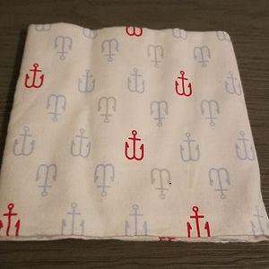 Sailor baby blanket
